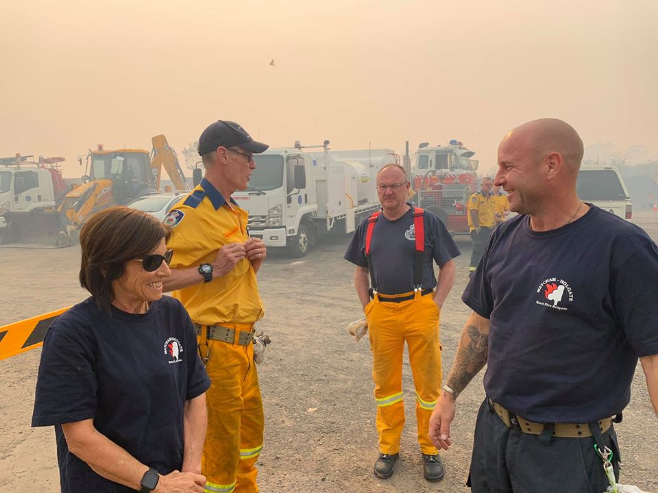 No, Scott Morrison, my husband does NOT want to be fighting fires this summer!